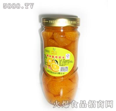 天富糖水蜜桔罐头