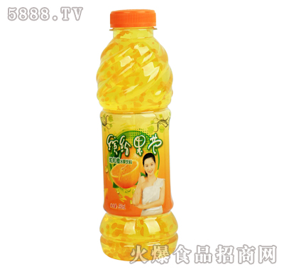 550ml缤纷果芭橙味
