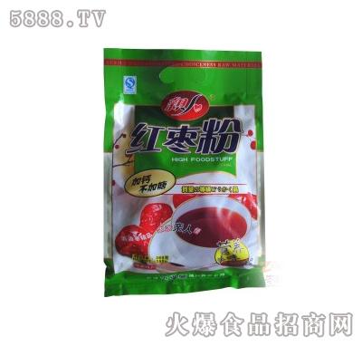 亲人红枣粉加钙不加糖360克