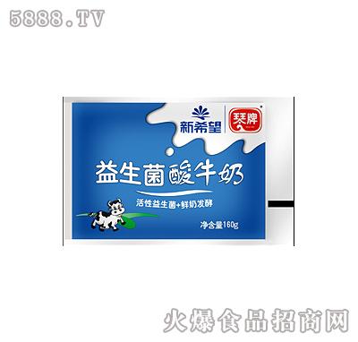 琴牌益生菌酸牛奶160g