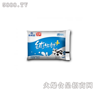 琴牌纯牛奶+