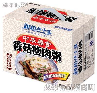 3D亲和香菇瘦肉粥12罐装