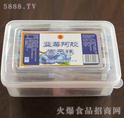 蓝莓阿胶固元糕