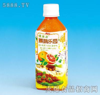 健乐源果蔬乐园香橙味