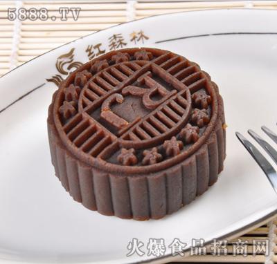 彩色月饼—巧克力色