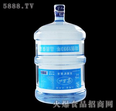 五加仑宝石山矿泉水
