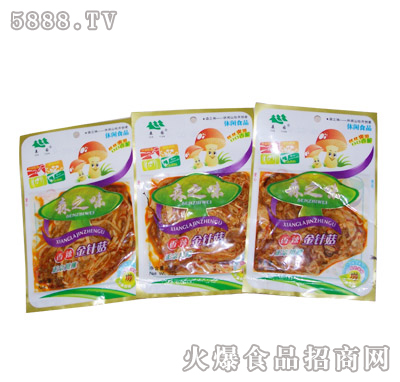 森之味香辣金针菇|森园食用菌食品有限公司-火爆食品.
