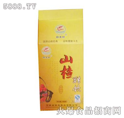 四季堂山楂醋饮500ml