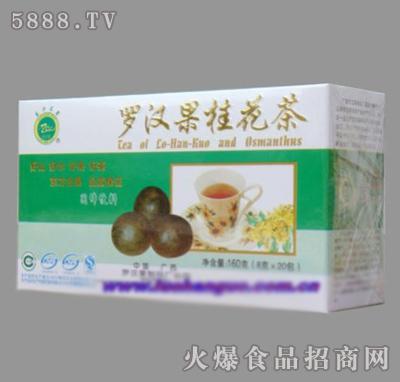 东方名果牌罗汉果桂花茶