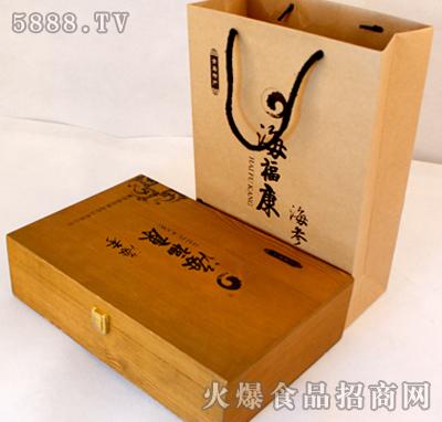 海福康干海参木盒包装
