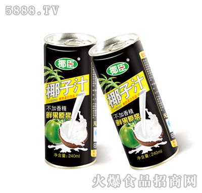 椰臣椰子汁240ml