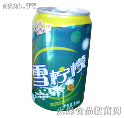 呈龙雪柠檬320ml