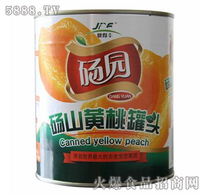 砀园糖水黄桃罐头820g