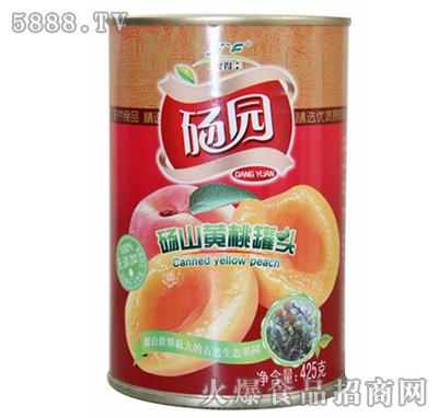 砀园糖水黄桃罐头425g