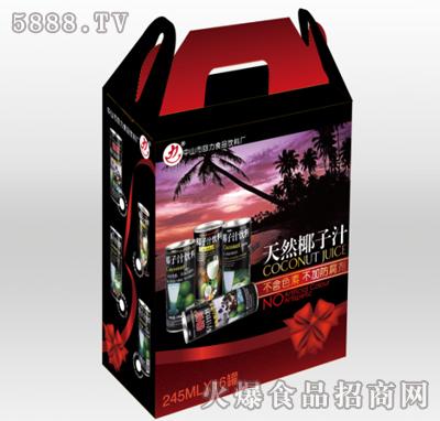 力牌天然椰子汁245mlx16罐