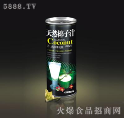 双喜天然椰子汁罐装