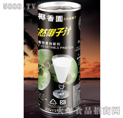 力牌椰香园天然椰子汁