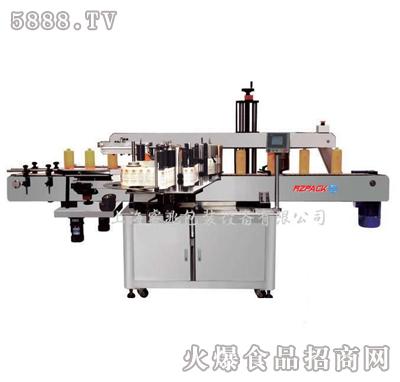 睿兆RZT-200单面贴标机产品图