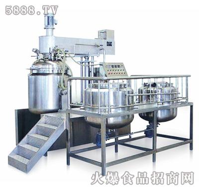 双特ST-ZJR-250真空均质乳化机组(液压升降型)
