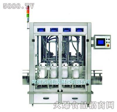 杰瑞WG-4型称重式灌装机产品图