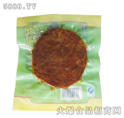 土老帽50克高蛋白素肉肠(背面)
