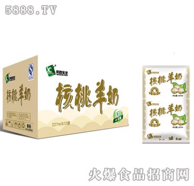 阳春乳业利乐枕核桃羊奶227mlx12袋