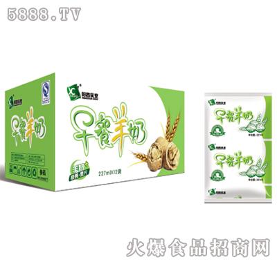阳春乳业早餐羊奶227mlx12袋