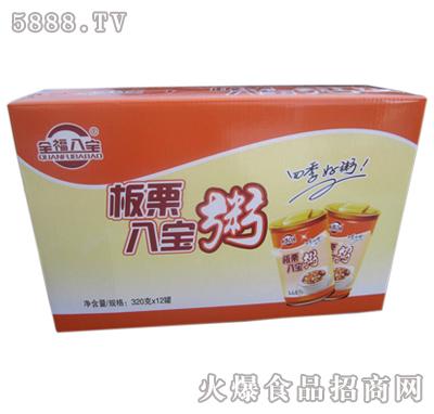 全福八宝板栗八宝粥礼盒320gx12罐