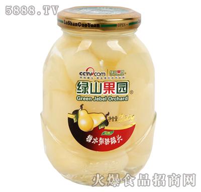 绿山果园260g糖水梨球罐头