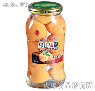绿山果园700g糖水甜杏罐头