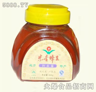 紫壶蜂王荆条蜜