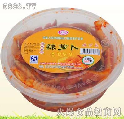 凌罗岛辣萝卜盒装现面向全国招商-丹东世金食品有限-.