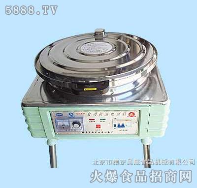昊晟立式自动控温电饼铛-电热铛-烙饼机-烤饼炉30型