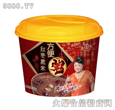鸿滨红枣黑米粥32g