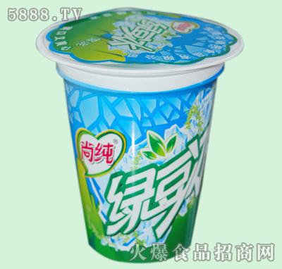 小黄想代理东莞市尚纯食品有限公司的尚纯--绿豆沙冰