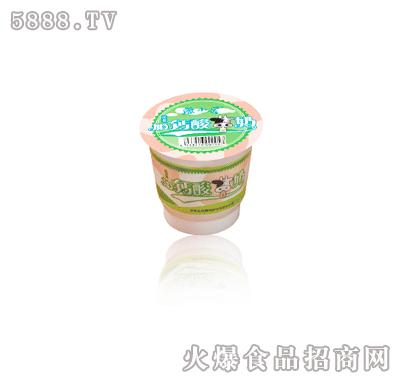 康小乐加钙酸奶