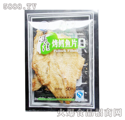 冯佳烤鳕鱼片50g