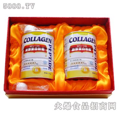 太爱肽胶原蛋白骨肽粉2桶礼盒装-350gX2罐产品图
