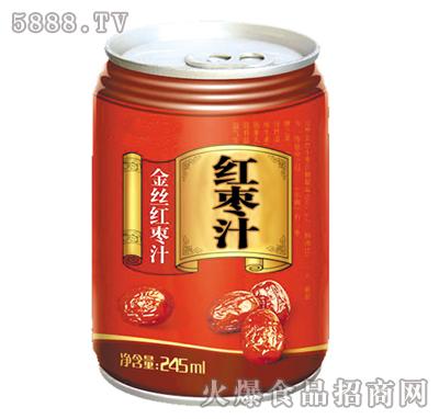 金丝红枣汁245ml