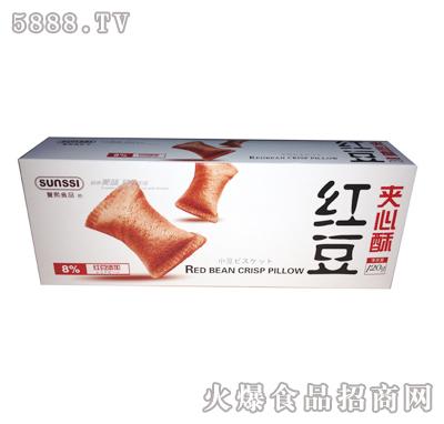 红豆夹心酥饼干120g