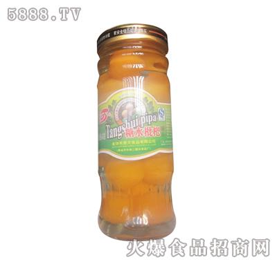 禾景天糖水枇杷罐头小瓶装