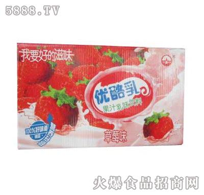 博士缘食品-优酪乳饮品(草莓味)