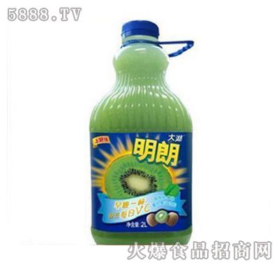 上好佳明朗猕猴桃口味混合果汁2000ml