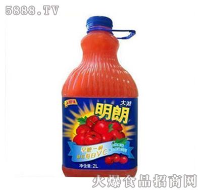 上好佳明朗山楂口味混合果汁2000ml