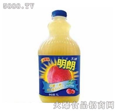 上好佳明朗桃口味混合果汁1000ml