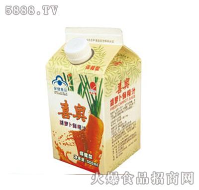 上好佳喜奥胡萝卜汁500ml