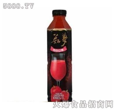 上好佳茹梦山楂口味混合果肉果汁1000ml