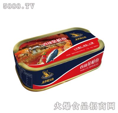 多多香辣金枪鱼肉罐头