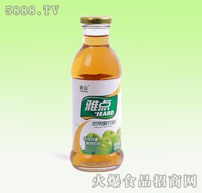 雅点苹果错饮料420ml