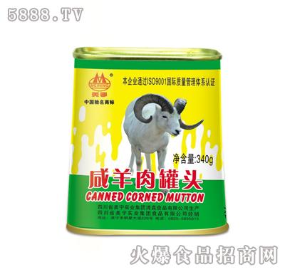 美宁咸羊肉罐头340g
